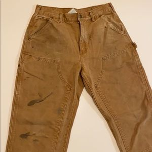 Carhartt double knee jeans